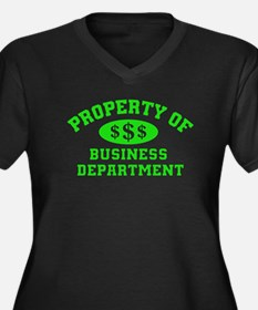 Property Of Business Department Plus Size T-Shirt