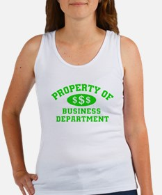 Property Of Business Department Tank Top