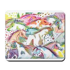 Wild Horse Herd Mousepad