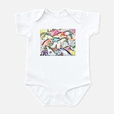 Wild Horse Herd Infant Bodysuit