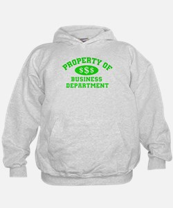 Property Of Business Department Hoodie