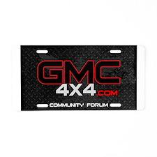 GMC4x4 Aluminum License Plate