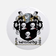 Kennedy Coat of Arms Ornament (Round)