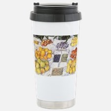 Caillebotte Fruit Stand Stainless Steel Travel Mug