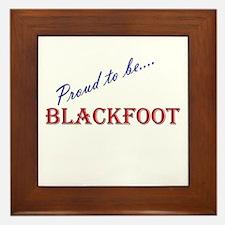 Blackfoot Framed Tile