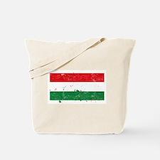 Hungarian Flag (Punk) Tote Bag