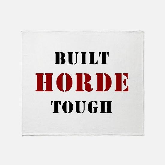 Built HORDE Tough Throw Blanket