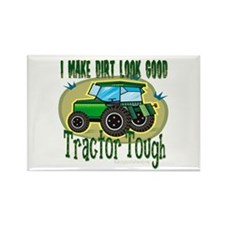 Tractor Tough Rectangle Magnet