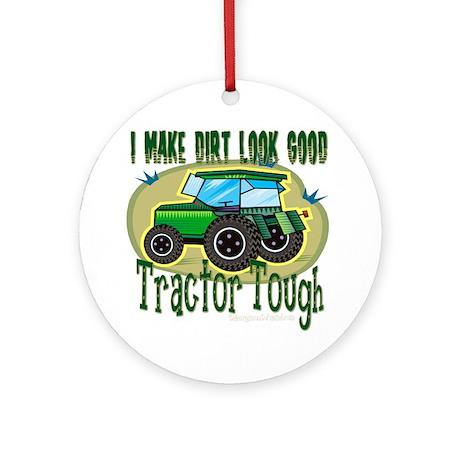 Tractor Tough Ornament (Round)