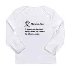 A man must think alone Long Sleeve T-Shirt