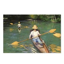 Oarsmen by Caillebotte Postcards (Package of 8)
