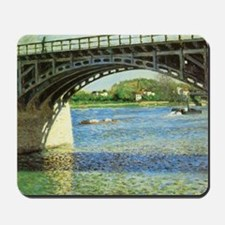 Caillebotte Bridge at Argenteuil and the Mousepad