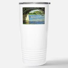 Caillebotte Bridge at Argenteui Travel Mug