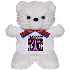 HAPPY 16TH Teddy Bear