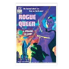 Postcards (pkg. 8) - 'Rogue Queen'