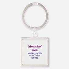 Homeschool mom Keychains