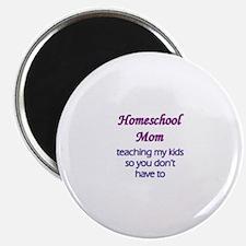 Homeschool mom Magnets