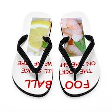 football Flip Flops