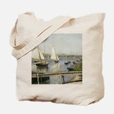 Caillebotte Sailing Boats at Argenteuil Tote Bag