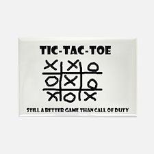 TIC-TAC-TOE Rectangle Magnet