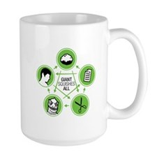 Rock, Paper, Scissors, Lizard, Spock - Mug Mugs