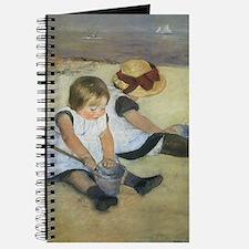 Mary Cassatt Children Playing on the Beach Journal