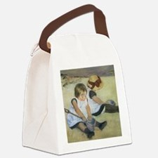 Mary Cassatt Children Playing on  Canvas Lunch Bag