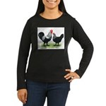 Iowa Blues Women's Long Sleeve Dark T-Shirt