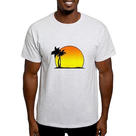 Tropical Sunset Light T-Shirt