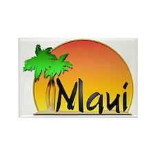 Maui Rectangle Magnet