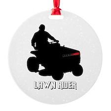 Lawn Rider Ornament
