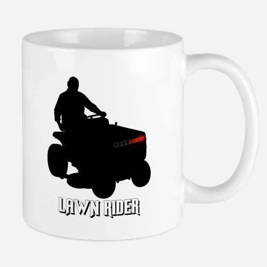 Lawn Rider Mug