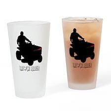 Lawn Rider Drinking Glass