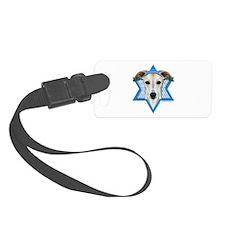 Hanukkah Star of David - Whippet Luggage Tag