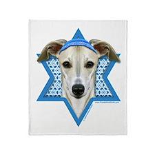 Hanukkah Star of David - Whippet Throw Blanket