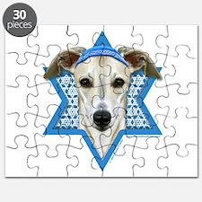 Hanukkah Star of David - Whippet Puzzle