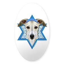 Hanukkah Star of David - Whippet Decal