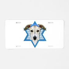 Hanukkah Star of David - Whippet Aluminum License