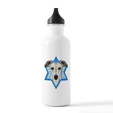 Hanukkah Star of David - Whippet Water Bottle