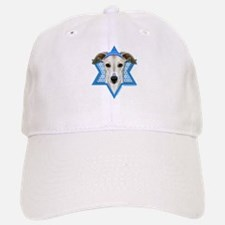 Hanukkah Star of David - Whippet Baseball Baseball Cap