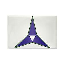 SSI - III Corps Rectangle Magnet