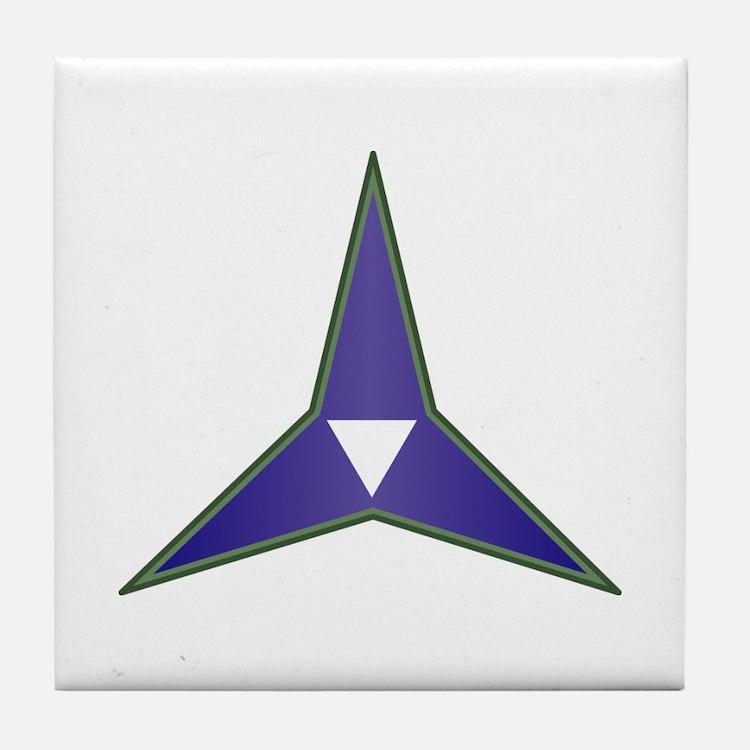 SSI - III Corps Tile Coaster