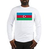 Azerbaijan Long Sleeve T-shirts