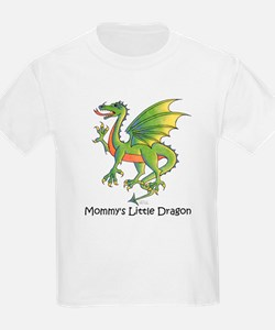 Mommy's Little Dragon Kids T-Shirt