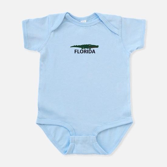 FLorida - Alligator Design. Infant Bodysuit