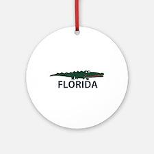 FLorida - Alligator Design. Ornament (Round)
