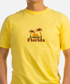 Florida - Palm Trees Design. T