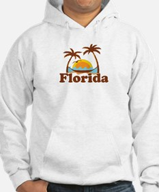 Florida - Palm Trees Design. Hoodie