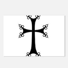 Armenian Cross Postcards (Package of 8)