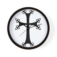 Armenian Cross Wall Clock